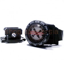 COMPASS WITH HOSE MOUNT & WRIST STRAP