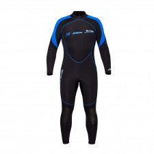 BARE - 3/2mm SPORT S FLEX WETSUIT FULL MENS , BLUE
