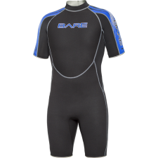 BARE - 2mm VELOCITY WETSUIT SHORTY  MENS , BLUE